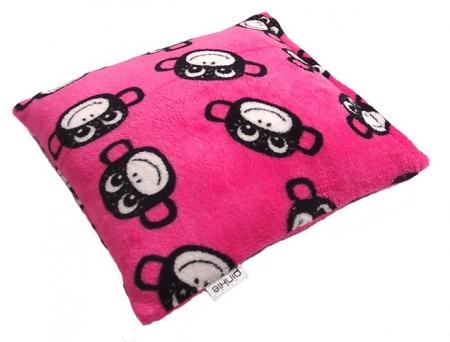 Poduszka Monkey Pink
