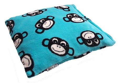 Poduszka Monkey Turquoise