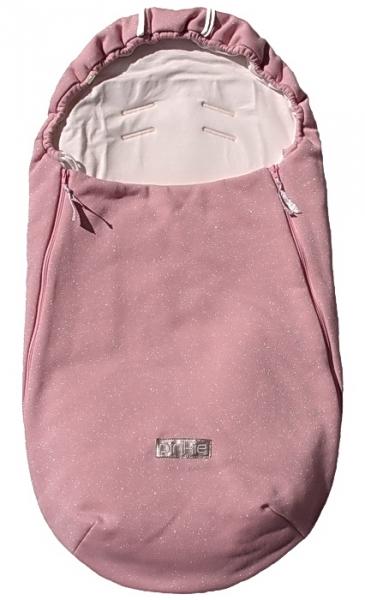 Wiosenno/jesienny śpiworek Shine Soft Pink