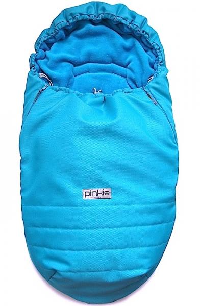 Śpiworek Pinkie Plain Turquoise Blue
