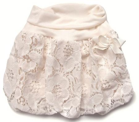 Spódniczka Lace Cream