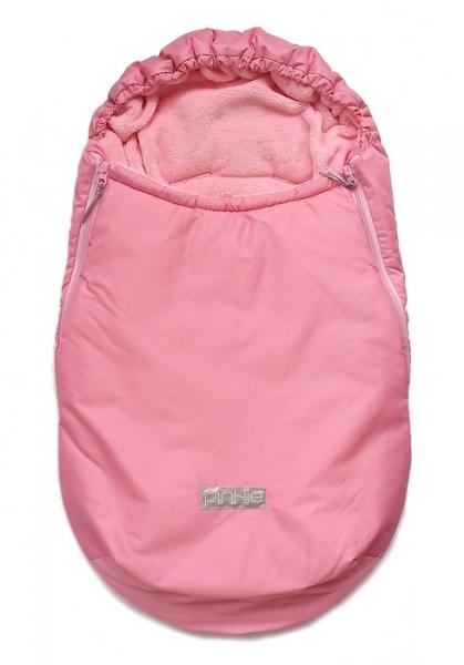 Zimowy śpiworek Plain Rose Pink 0-12 mies.