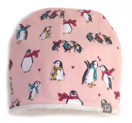 Czapeczka Pink Penguin