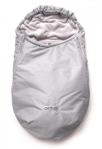 Zimowy śpiworek Plain Grey 0-12 mies.