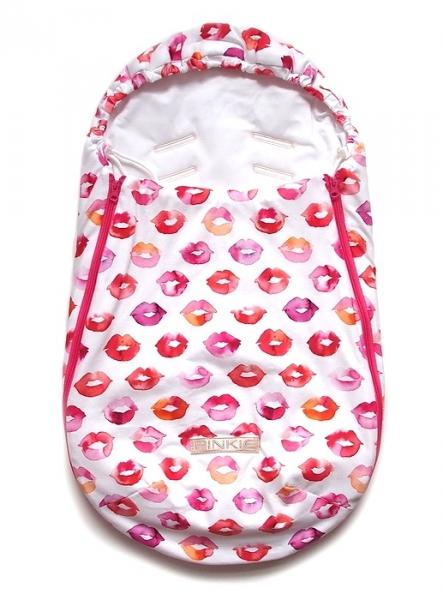 Śpiworek Pinkie Kiss White 0-12 miesięcy