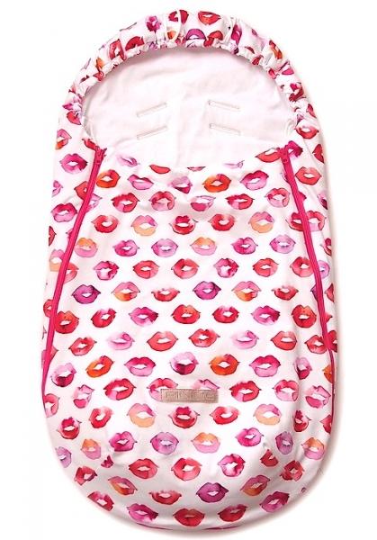 Przejściowy śpiworek Pinkie Kiss White