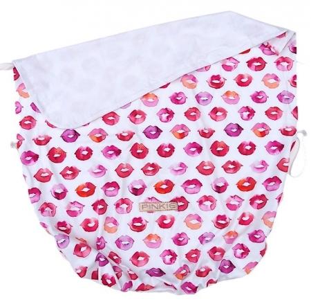 Koc ze ściągaczem Pinkie Kiss White
