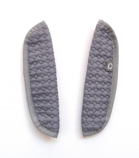Osłonka na pasy do wózkaSmall Grey Comb
