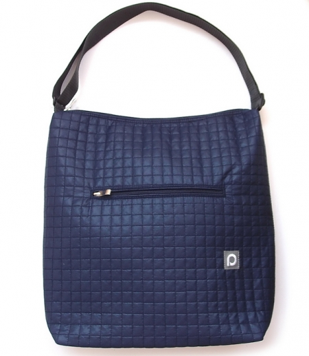 Duża torba dow wózka Little Square Dark Blue