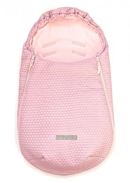 Śpiworek Light Pink Comb 0-12 miesięcy