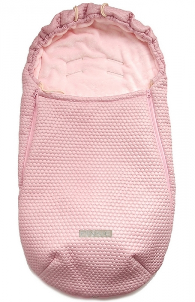 Śpiworek całoroczny Pinkie Light Pink Comb