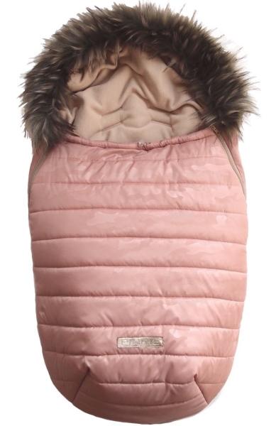 Śpiworek Pinkie Pink Camo z futerkiem