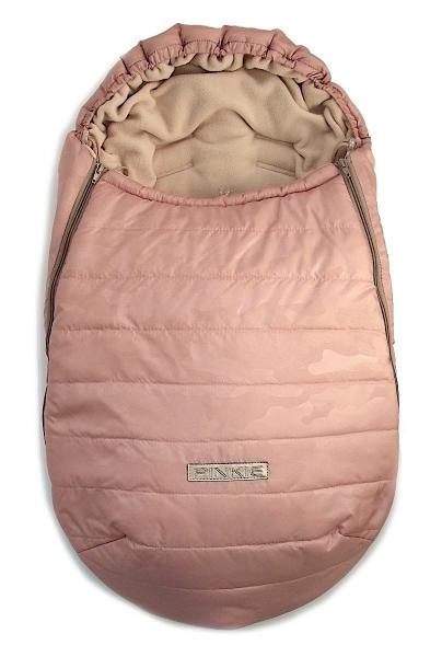 Zimowy śpiworek Pink Camo 0-12 mies.