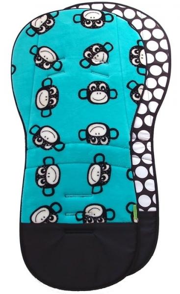 Wydłużona wkładka Monkey Turquoise