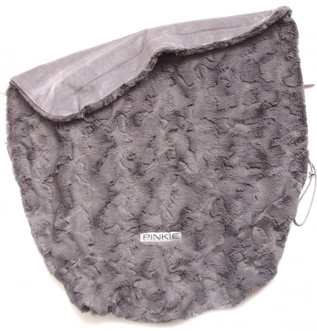 Koc ze ściągaczem Fur Grey
