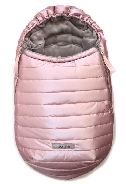 Zimowy śpiworek Pink Line 0-12mies.