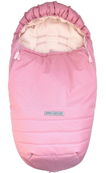 Śpiworek Pinkie Plain Rose Pink