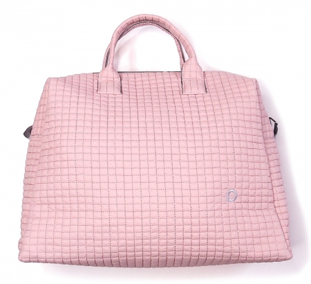 Torba do wózka Little Square Soft Pink M