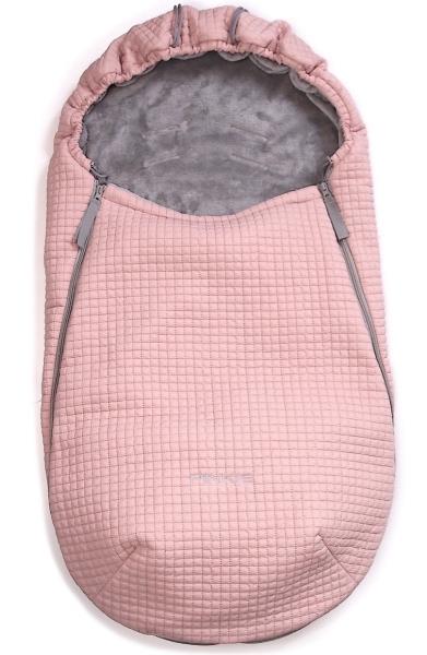 Śpiworek całoroczny Little Square Soft Pink