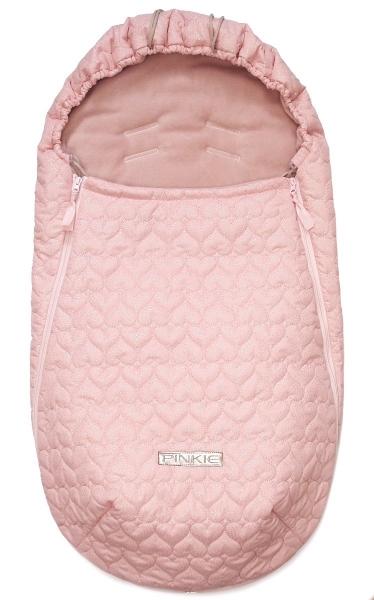 Śpiworek całoroczny Pinkie Shine Heart