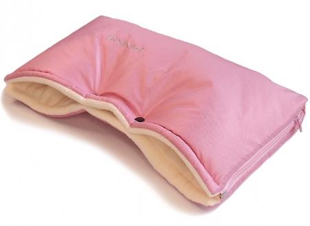 Mufka Pinkie Plain Rose Pink
