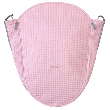 Okrycie na nóżki Small Pink Comb z warstwą funkcyjną