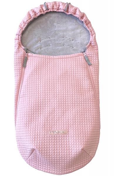 Śpiworek całoroczny Small Pink Comb