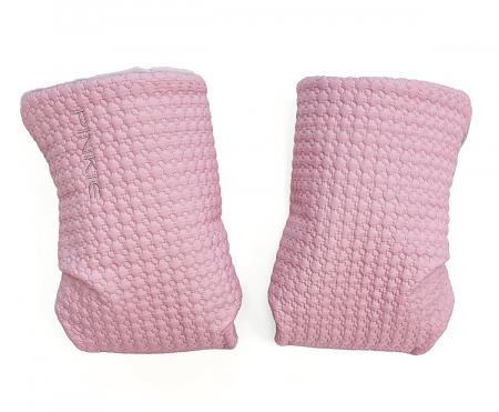 Rękawica do wózka Small Pink Comb