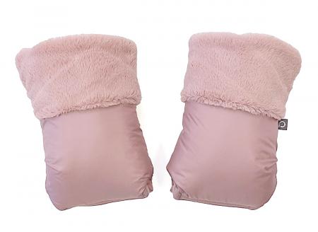 Rękawice do wózka Fur Pink