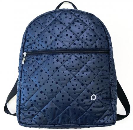 Plecak Bugee Dark Blue Dots