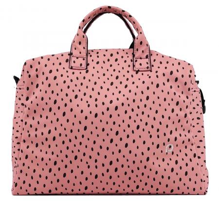 Torba do wózka Softshell Dots Pink M