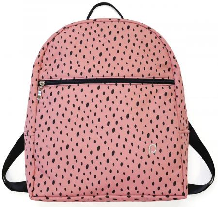 Plecak Bugee Softshell Dots Pink
