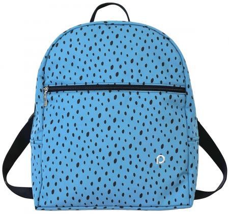 Plecak Bugee Softshell Dots Blue