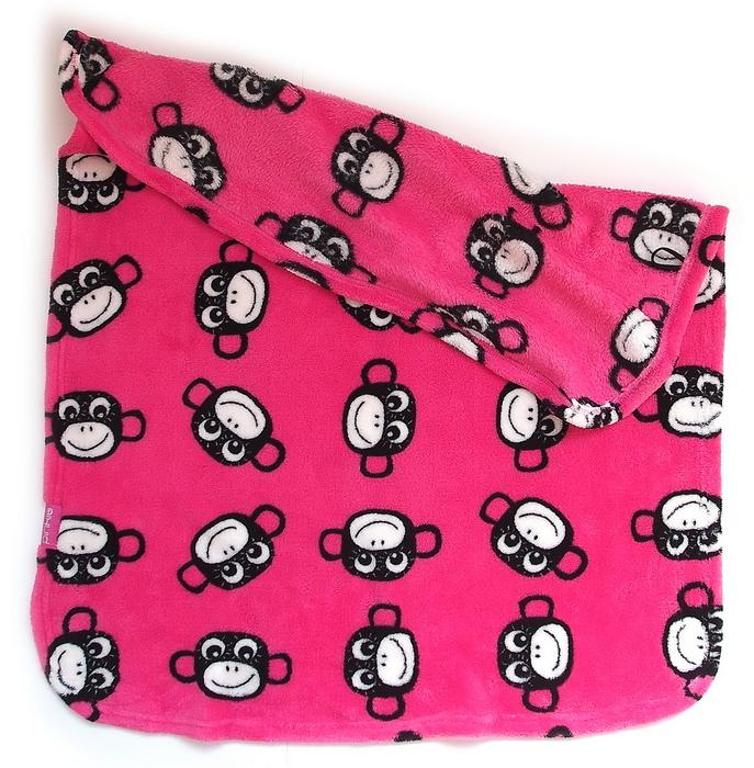 kliknutít zobrazíte maximální velikost obrázku Kocyk Monkey Pink
